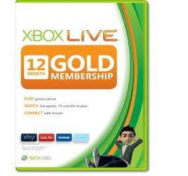 12 Month, £24.89 / 14 Month, £26.99 Xbox 360 LIVE GOLD Membership Card @ eBay / xboxlivecodesuk, gamepassion