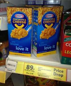 The Real Kraft Dinner available cheap in the UK - 89p - usually £1.19 @ Tesco