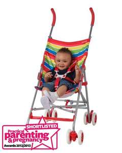 Single or double buggy from kiddicare £19 or £56.90