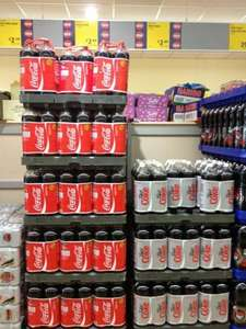 2 x 2 Litre Coca Cola Regular/Diet  £2.89 at Aldi In store