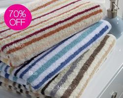 Christy Towels, upto 70% off sale