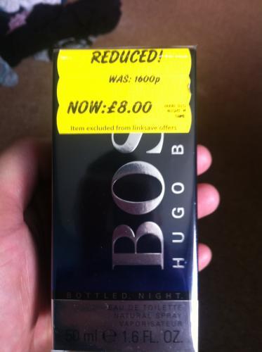 Hugo Boss Bottled Night 50ml £8.00 @ asda