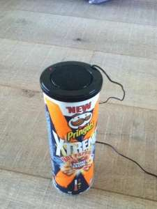 FREE Loud Speaker with built in amplifier with 3 packs of Pringles (BOGOF!!!) (works out at £4.96)