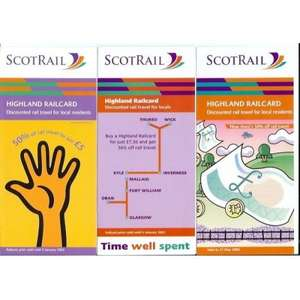 Highland Railcard - 50% off rail travel - £8.50 @ Scotrail