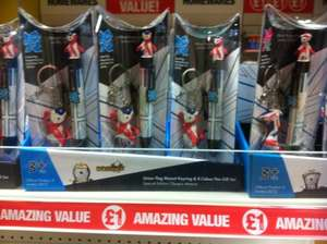 Various Official London 2012 Olympics Games Products/Souvenirs @ Poundland for £1