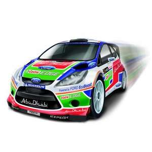 Nikko Radio Control Ford Fiesta WRC for £14.99 Delivered @ Model Zone