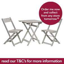 Half price Garden furniture @ Wilkinson
