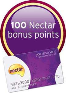 Free 100 Nectar points for providing insurance renewal details