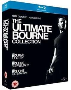 Ultimate Bourne Collection Blu Ray, £8.99 @ Sainsburys Entertainment