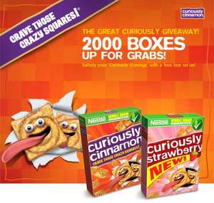 2001 Free Box of Curioudly Cinnamon cereals