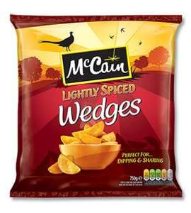 McCain Lightly Spiced Wedges 750g @ Co-op  55p with Coupon