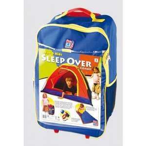 Sleep Over Combo Tent, Torch and 2 Sleeping Bags £10 FREE DEL at Duncans Toy Chest