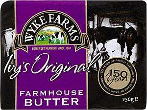 Wyke Farms Farmhouse Butter (250g) only £1.00 @ Farmfoods
