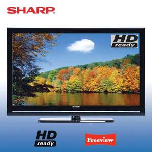 "SHARP LC32SH130 LCD TV 32"" HD-READY HDMI FREEVIEW USB PLAY & RECORD £171.99 Delivered @ Tesco / Ebay (Refurb / 12 months warranty)"