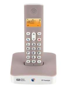 BT Freestyle 335 Single Cordless Phone with Answering Machine £7.49 @ WH Smith