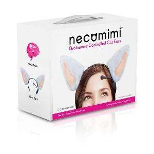 Necomimi Brainwave Controlled Robotic Cat Ears! - United Publications £75.30 Delivered