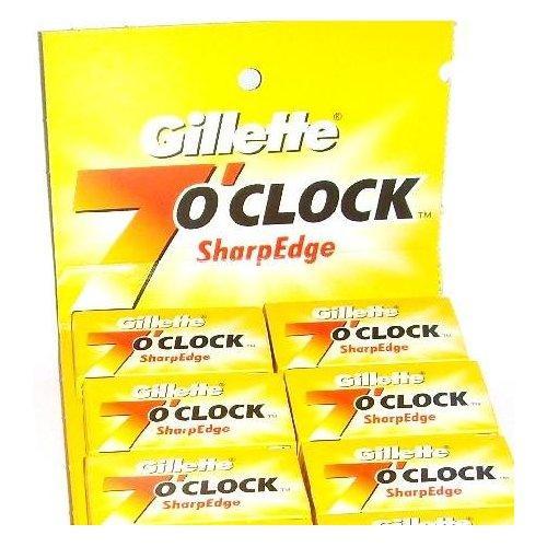 Gillette 7 O' Clock Double Edged Razor Blades - 100 blades £10.99 @ TheShavingShack