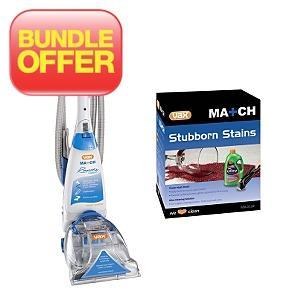 Vax V-026CC Rapide Match Classic Upright Carpet Cleaner & Vax Stubborn Stains Match Kit - £134.95 @ Asda Direct