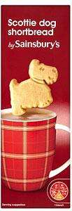Sainsburys Scottie Dog Shortbread with chocolate chips 100g only 10p at Sainsburys instore