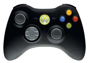 Xbox 360 Black Wireless Controller - Harvey Norman Hollywood Exchange, Belfast - £10