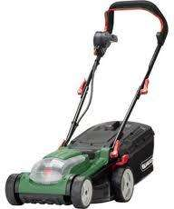 Qualcast RMi34 Lion Battery Powered Lawnmover HALF PRICE RRP £350 scans at £127.49 @ Homebase