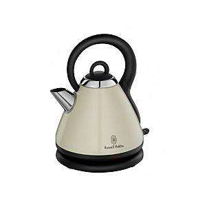 ASDA - russell hobbs heritage kettle (in Red. Black or Cream) 1.8l  £30