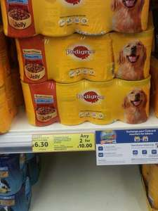 pedigree dog food 24 tins £10 tesco