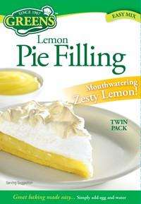 Greens Lemon Pie Filling pack of 2 - 35p at ASDA instore and online