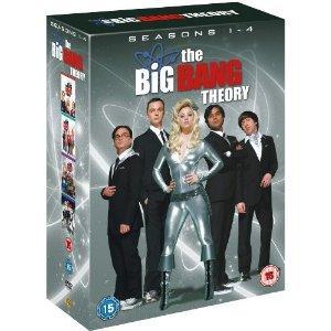 The Big Bang Theory Season 1-4 Boxset £17.49 @ Amazon (Lighting Deal)