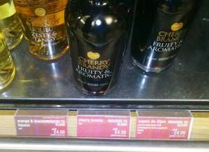 Cherry Brandy, Orange Brandy, Cassis - 50cl,  Bargain @ £4.99 INSTORE @ M&S - Half Price