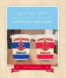 Free Anchor Real Dairy Cream @ ASDA