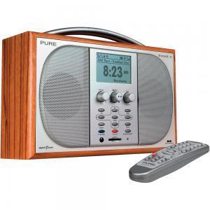 Pure Evoke 3 DAB radio with ReVu & EPG, (refurbished & guaranteed 1yr by Pure).