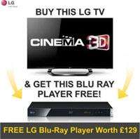 LG 42LM660T 3D LED TV + LG BP420 3D Smart Blu Ray - £699 @ Electrical Experience