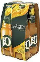 J2O - Orange and Passion Fruit - Morrisons £2 (4 Pack)