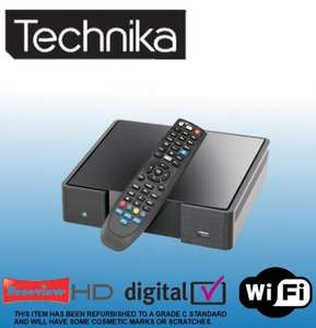 £51.98 TECHNIKA 8320HD 320GB HDD FREEVIEW HD DIGITAL RECORDER (REFURB GRADE C) TESCO EBAY OUTLET