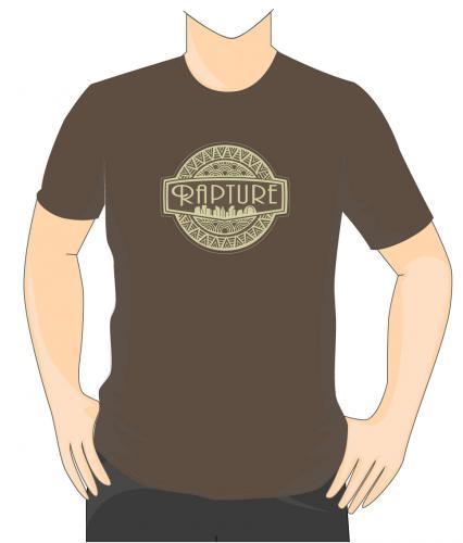 Bioshock Rapture T-Shirt Brown Large (Clothing) £4.99 Delivered from Grainger Games