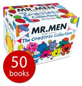 Mr. Men: The Complete Collection - 50 Books - £30.00 delivered @ The Book People
