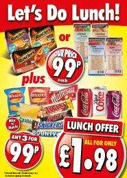 Lets Do Lunch (Details in first post) @ 99p Stores for £1.98