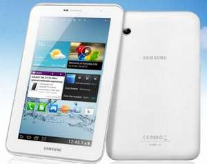 SAMSUNG Galaxy Tab 2 GT-P3110 7.0 Tablet PC - 8 GB, White £199.99 or ( £169.99 after cash back) @ Currys