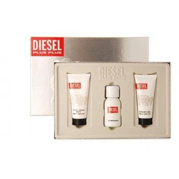 Diesel Plus Plus Men Gift Set: 75ml EDT, 100ml Shower Gel, 100ml Aftershave Balm @ Only Minx