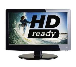 "Logik L19LDVB11 Refurbished 19"" HD Ready LED TV (Grade B, 6 Months Warranty) @ Currys/PC World ebay Outlet"