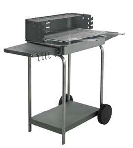 Samba Trolley Charcoal Barbecue - Half Brice £19 @ B&Q