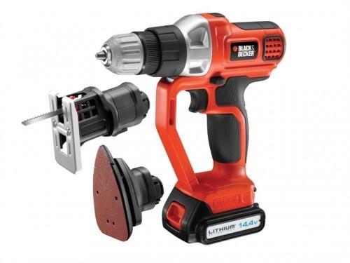Black & Decker MFL143K Li-Ion Evo 4 In 1 Multitool £60.52 @ Big red toolbox