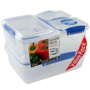 Sistema Klip It Storage Container, 7 Pack £8.79 @ Waitrose