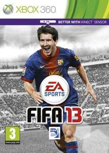 Fifa 13 - £30 PS3 and Xbox 360 limited number Grainger Games online