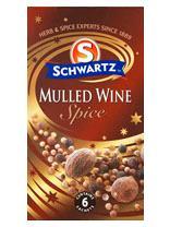Schwartz Mulled Wine Spice 18g - £0.20 - Tesco