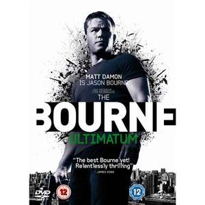 The Bourne Ultimatum DVD @ Play @ £1.99 - Free Delivery