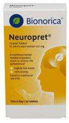 Bionorica Neuropret St. John's Wort Extract 425mg (30 Tablets) 80% off for £5.94 Delivered @ Chemist.net