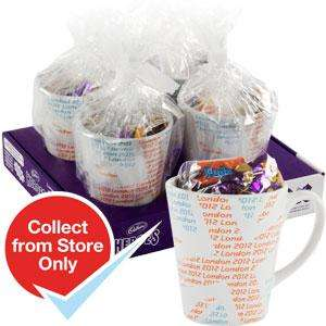 4 Team GB Mugs Filled with Cadbury's Heroes (Case of 4) £16 off - £3.96 @ Homebargains