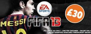 More Fifa 13 for £30 @ Grainger Games PS3/360